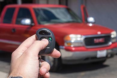 Car Alarm System Installation