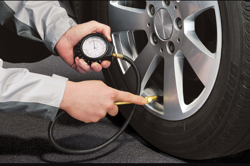 How Is Checking Your Car's Tire Pressure Helpful?